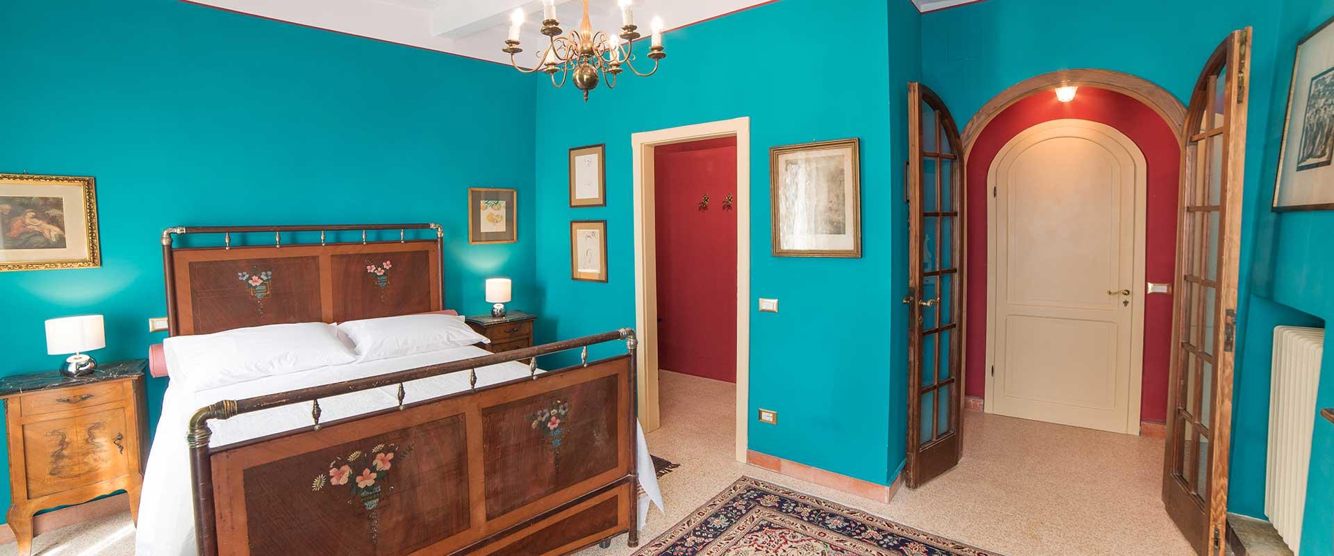 La Viola B&B Assisi - Camera Turchese nel centro di Assisi
